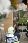 požar v hiški