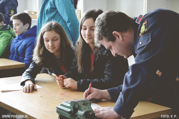 Kviz gasilske mladine 2015 GZ Novo mesto