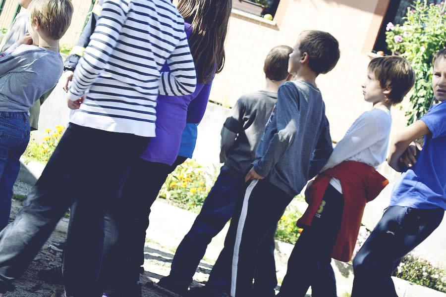 Evakuacija šole v Šmihelu