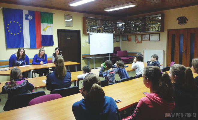 Občni zbor gasilske mladine PGD Žužemberk 2016