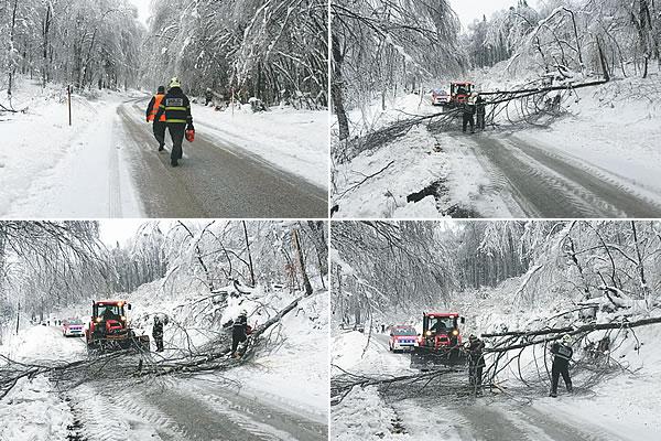 Snegolom po Suhi krajini