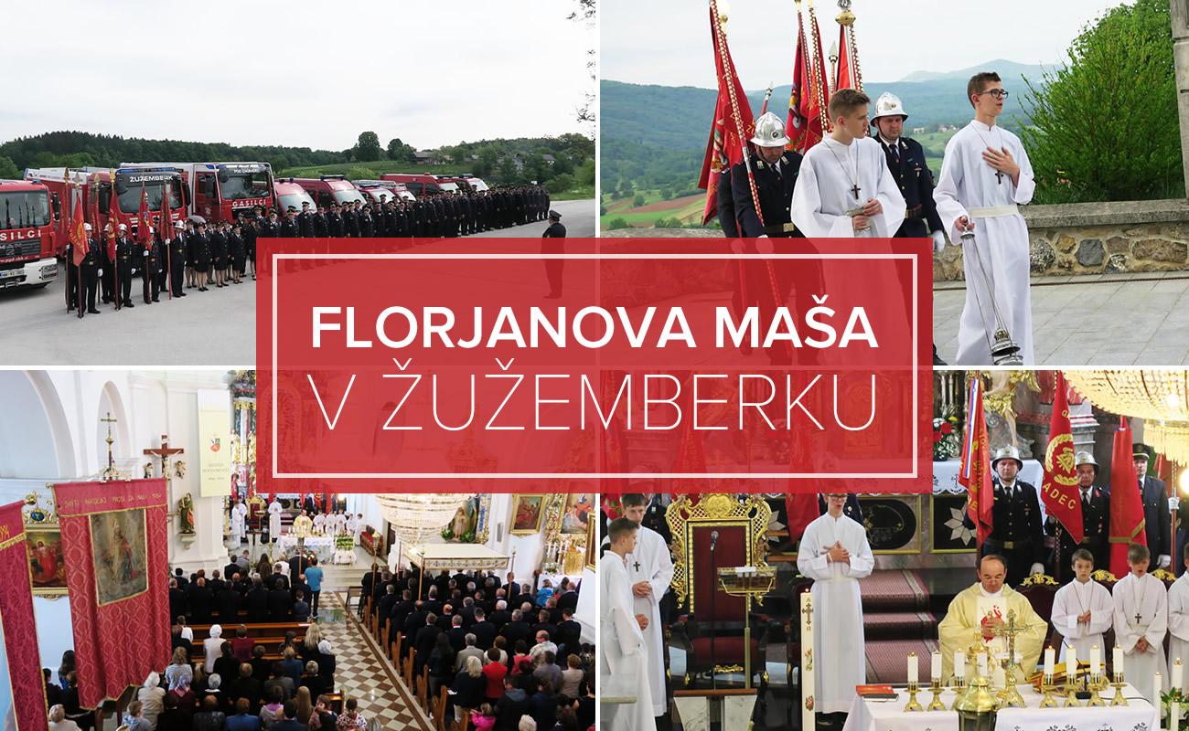 Prva Florjanova maša v Žužemberku